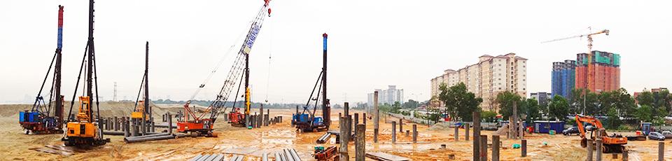 Construction Piling | Sheet Pile | Bored Pile | Piling Machine